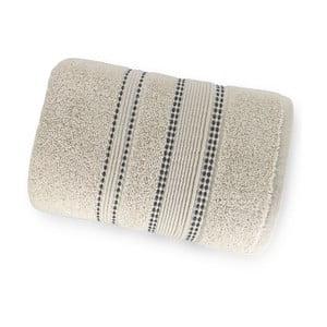 Krémovobiela osuška zo 100% bavlny Marie Lou Remix, 150 x 90 cm