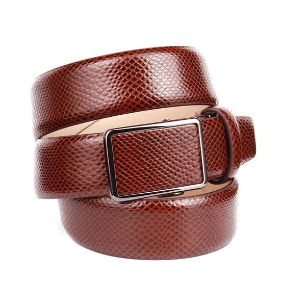 Pánský kožený pásek 37V30 Brown, 100 cm