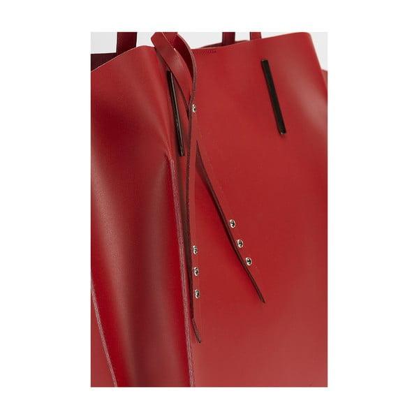 Kožená kabelka Giorgio Costa 15015 Bordo