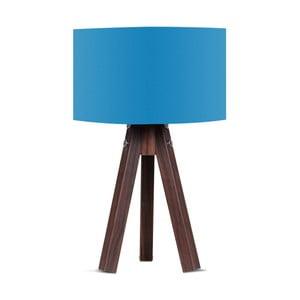 Stolová lampa s modrým tienidlom Kate Louise Kahve
