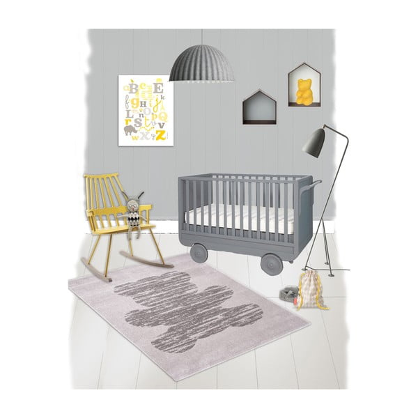Detský koberec Nattiot Teddy, 120x170cm