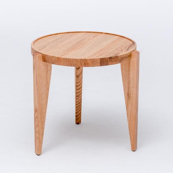 Dubový kávový stolík Bontri, 50x44 cm