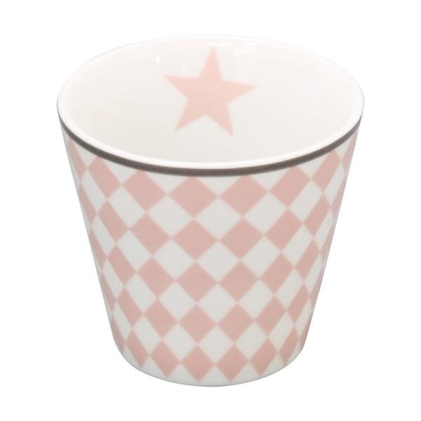 hrnček na kávu Krasilnikoff Pink Harlekin