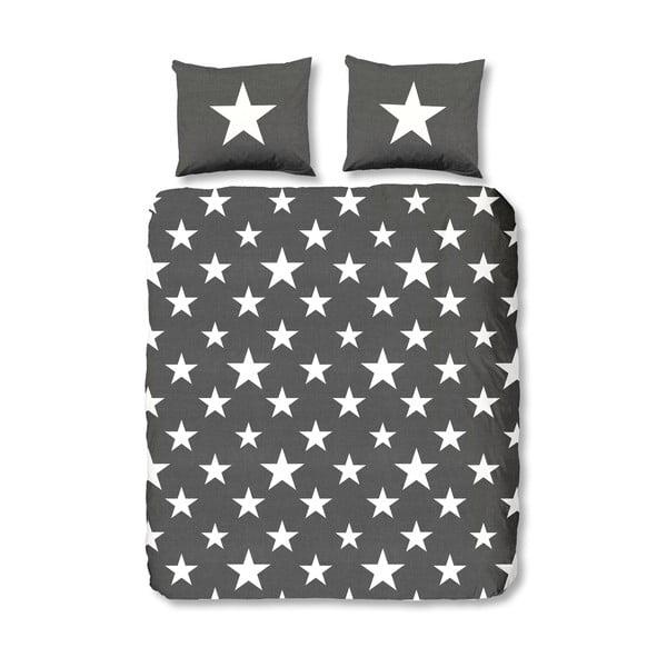 Obliečky Stars Antracit, 140x200 cm