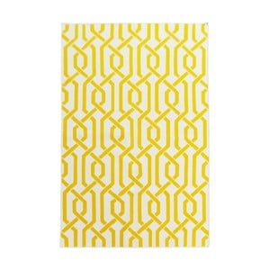 Ručne tkaný koberec Camila Yellow, 140 x 200 cm