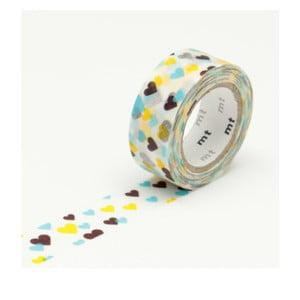 Washi páska MT Masking Tape Hearts