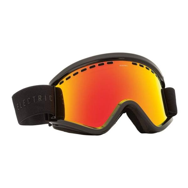 Pánske lyžiarske okuliare Electric EGV Gloss Black - Bronze Red Chrome, veľ. M