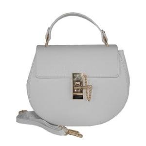Kožená kabelka Andrea Cardone 2023 White