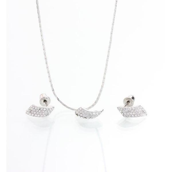 Set náhrdelníka a náušníc so Swarovski krištáľmi Yasmine Clow