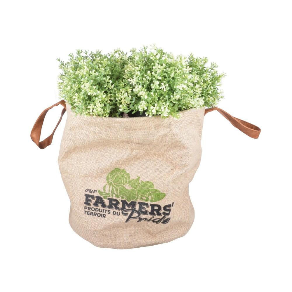 Pestovateľská taška na veľké rastliny Esschert Design Farmers Pride