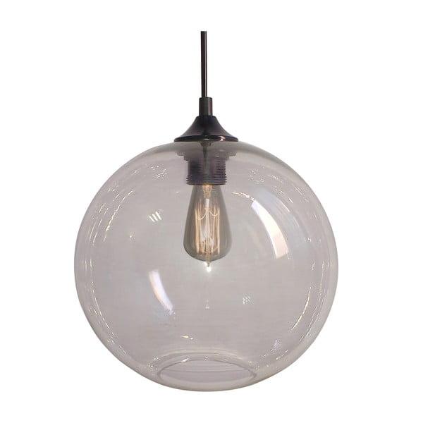 Závesné svetlo Edison, transparentné