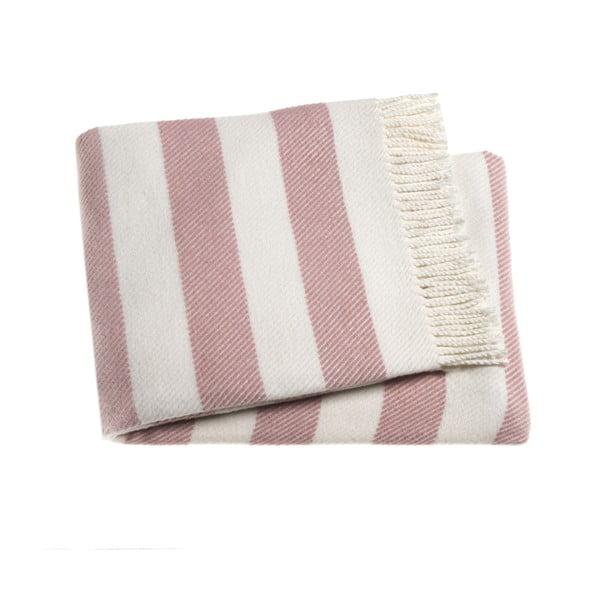 Ružová deka Euromant Candy, 140x180cm