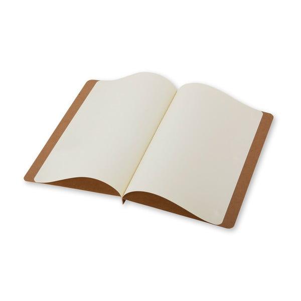 Listový set Moleskine Avana, zápisník + obálka