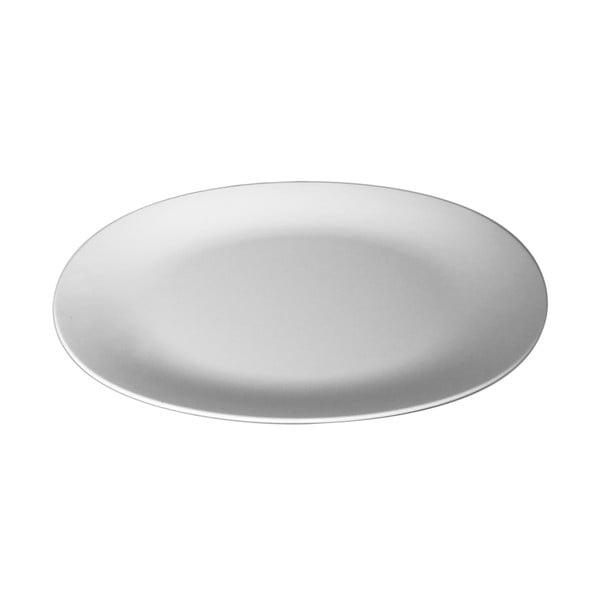 Červený servírovací tanier Entity, 35,5cm