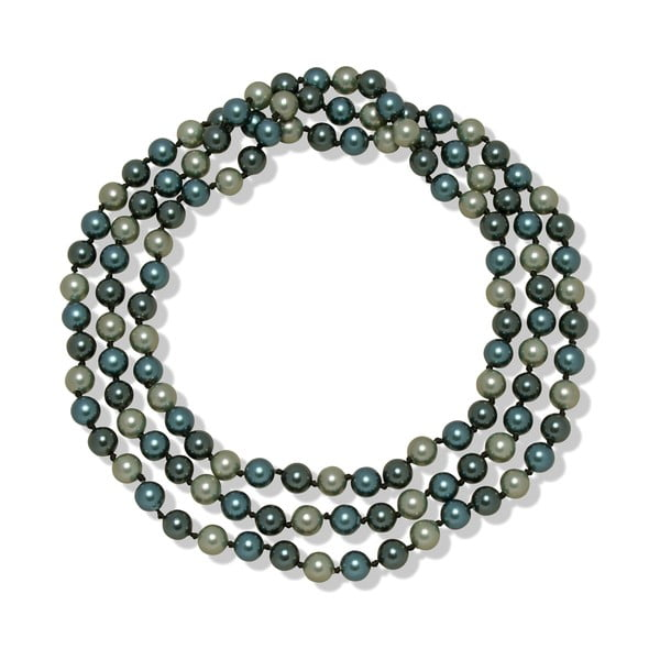 Modrý náhrdelník Mara de Vida Perldor, dĺžka 90cm