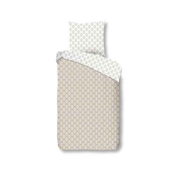 Bavlnené obliečky Müller Textiel Sand, 135x200cm
