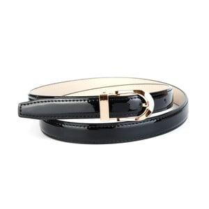 Dámsky kožený opasok 4300L Black, 80 cm