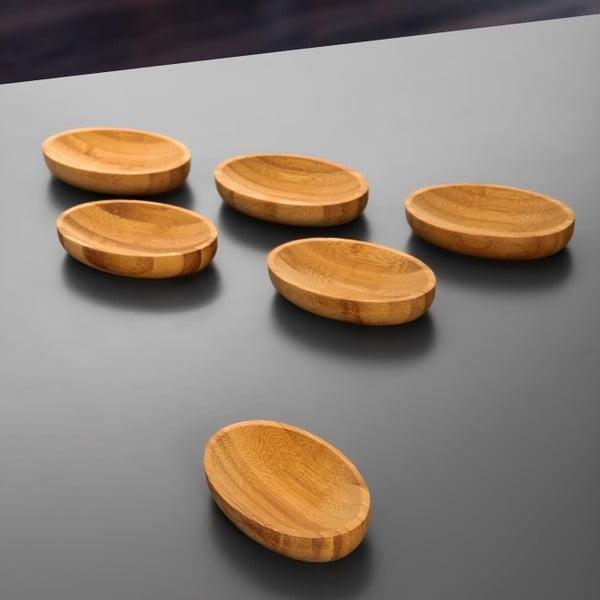 Sada 3 bambusových misiek Peka