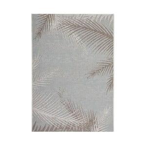 Koberec Tropical 330 Grey Leaf, 80x150 cm