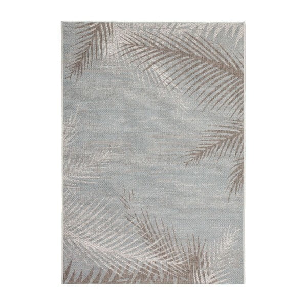Koberec Tropical 330 Grey Leaf, 160x230 cm