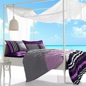 Obliečky s plachtou Feride Purple, 200x220 cm