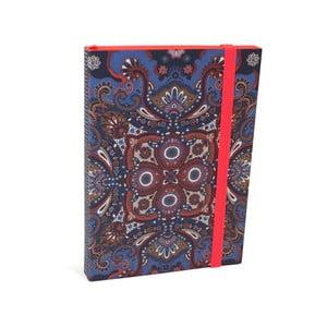 Linajkovaný zápisník A6 Portico Designs Oilily, 160 stránok