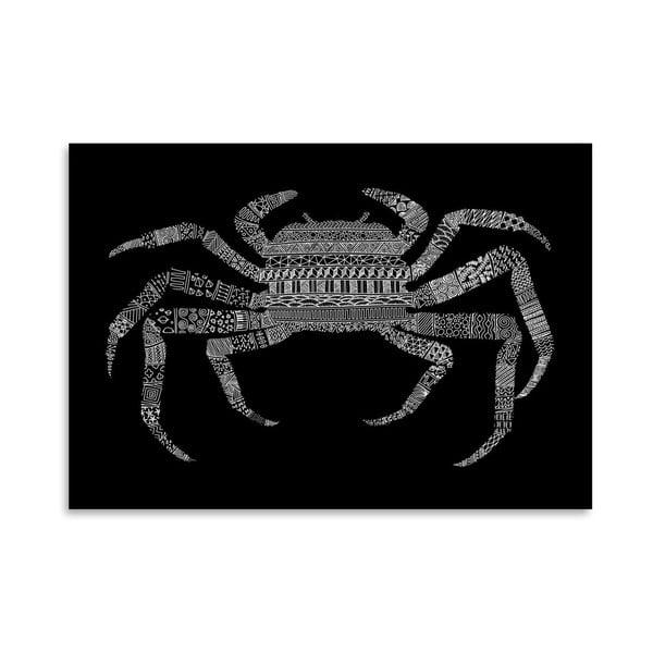 Plagát Crab od Florenta Bodart, 30x42 cm