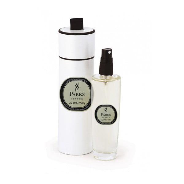 Izbový vonný sprej s vôňou ľalie Parks Candles London Lily, 100 ml