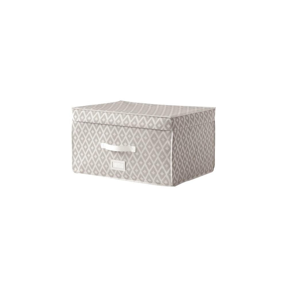 Béžový úložný box Compactor Trunk Daman, 150 l
