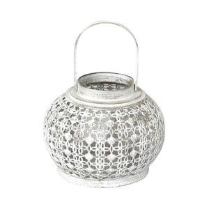 Kovový lampáš Bulb, 18x23x18 cm