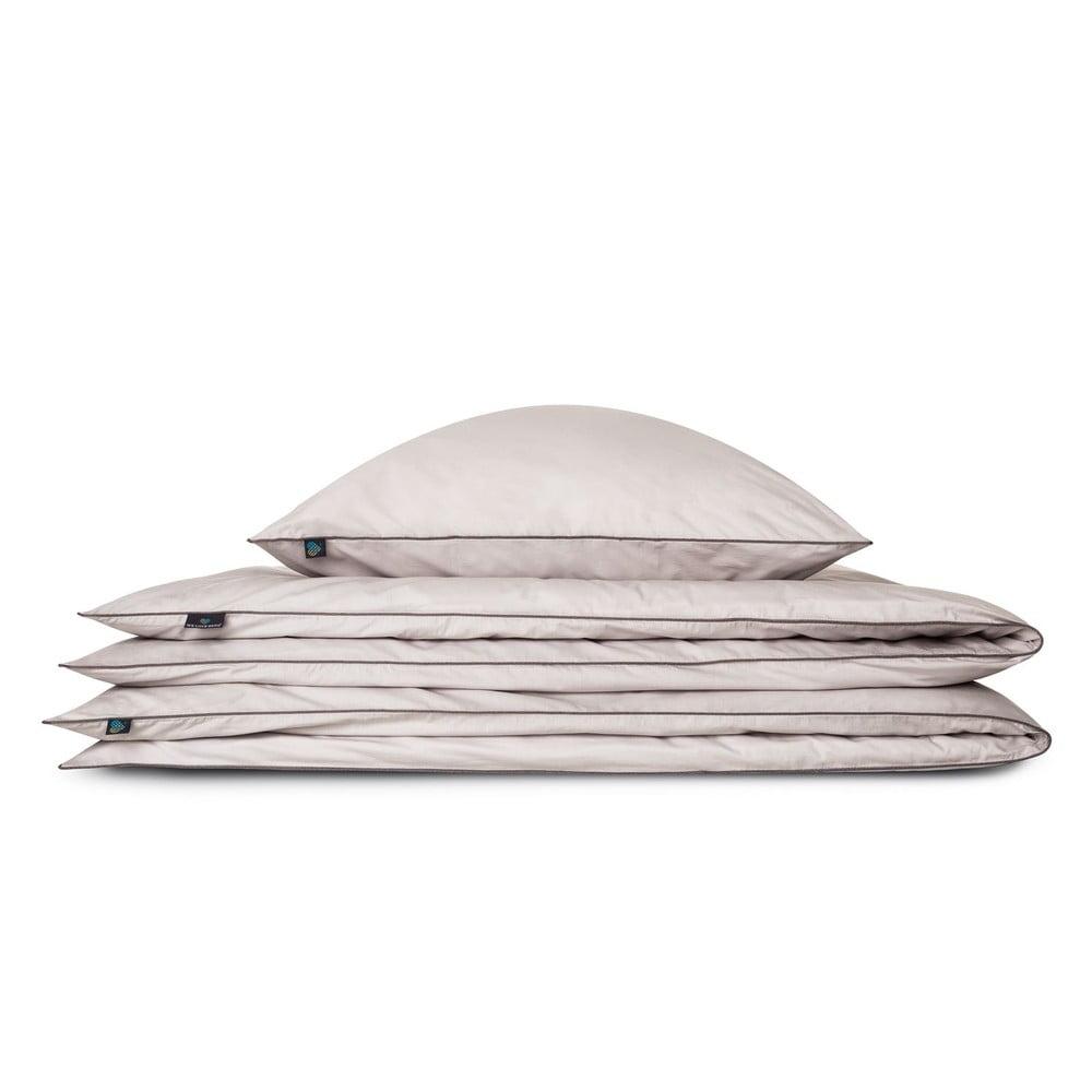 Svetlosivé bavlnené obliečky na vankúš WeLoveBeds Perla, 70 x 80 cm