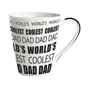 Porcelánový hrnček KJ Collection World's coolest dad