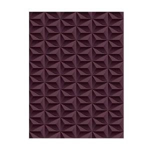 Koberec z vinylu Origami Choco, 70x100 cm