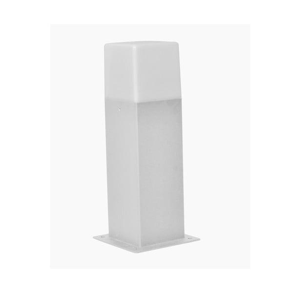 Svetlosivé vonkajšie stojacie svetlo Trio Hudson, výška 30 cm