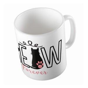 Keramický hrnček Meow Forever, 330 ml