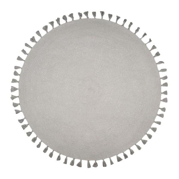 Sivý koberec Nattiot Josephine, ∅140 cm
