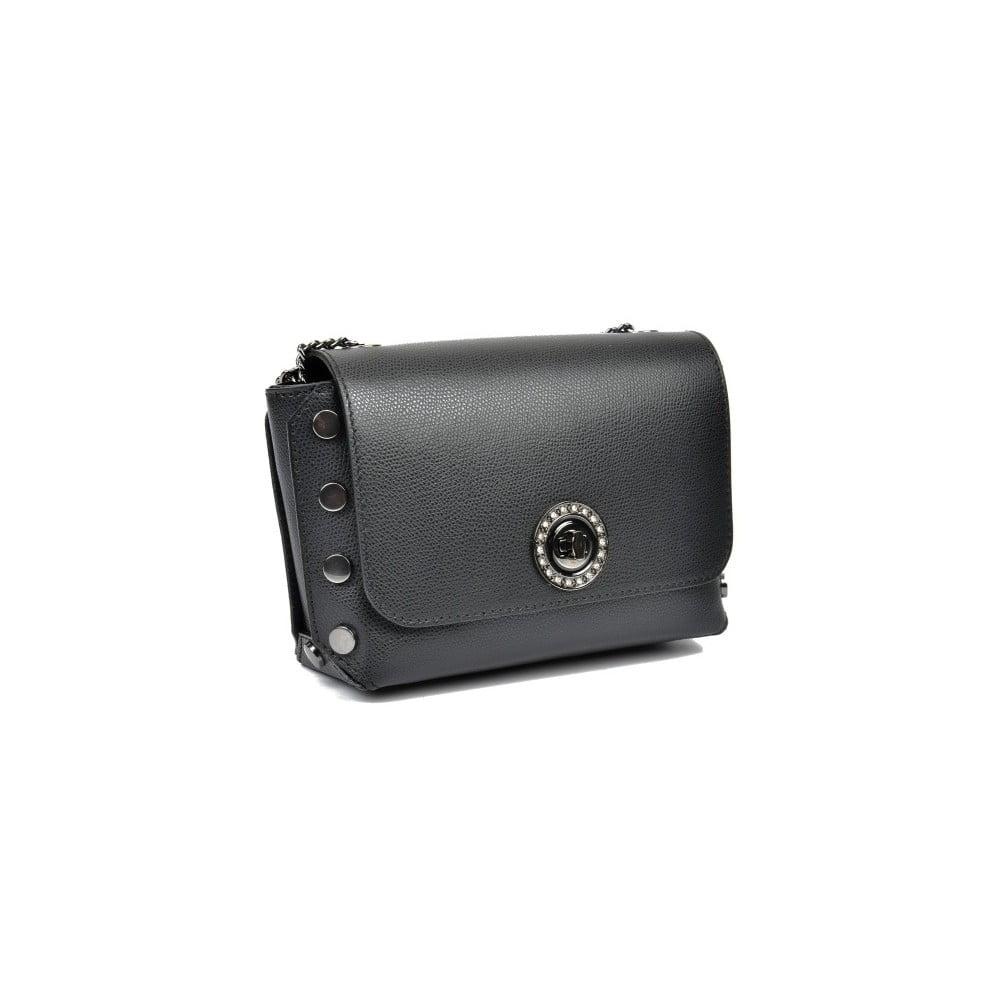 1531f29e51 Čierna kožená kabelka na retiazke Sofia Cardon Liliana ...