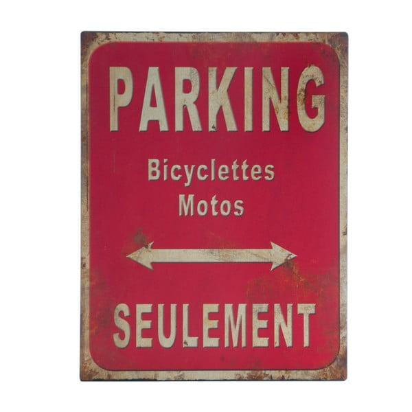 Kovová ceduľa Antic Line Parking, 25 x 33 cm