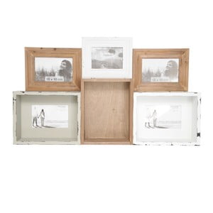 Univerzálna tácka/polička/fotorámček Tray In Wood, 68x40 cm