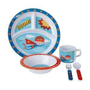 5-dielny jedálenský detský set Premier Housewares Super Rupert