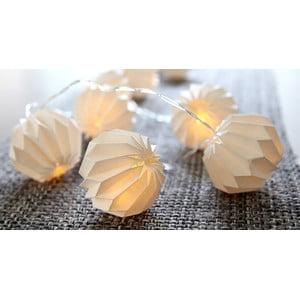 Osvetlenie Paper Flowers White
