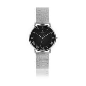 Unisex hodinky s antikoro remienkom v striebornej farbe Frederic Graff Silver Dom Silver Mesh