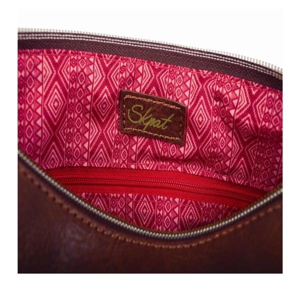 Ružovo-modrá kabelka SKPA-T, 26 x 19 cm