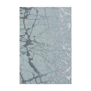 Svetlomodrý koberec Twigs, 80 x 150 cm
