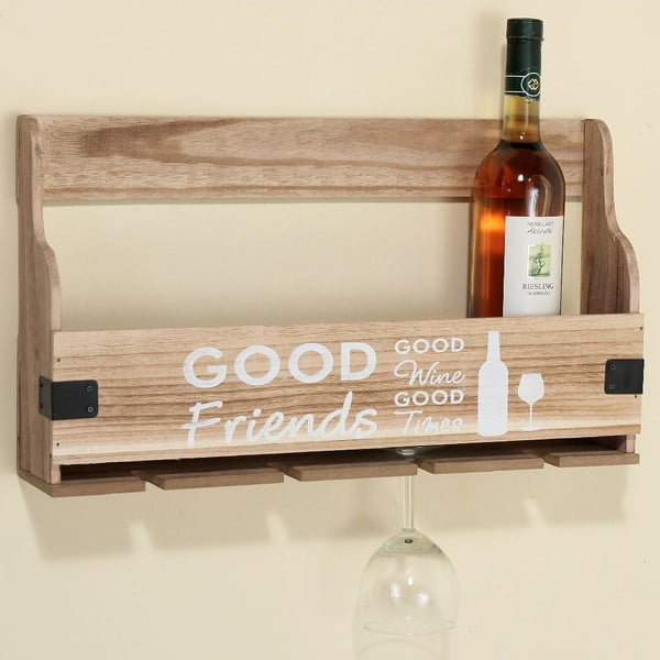 Polica na víno Pinot Wood