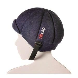 Detská modrá čapica s ochrannými prvkami Ribcap Jackson, veľ. L