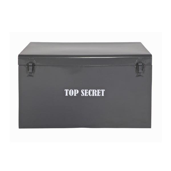 Truhlica Top Secret, sivá