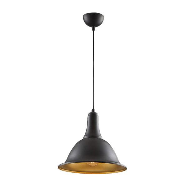 Stropné svetlo In Cone Black/Gold