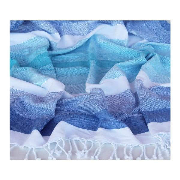 Peshtamal Colorful Blue/Aqua, 95x170 cm