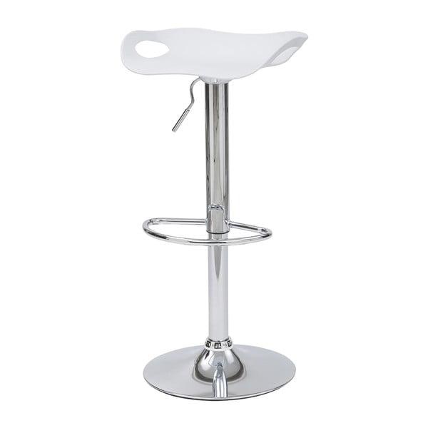 Barová stolička Rome, biela